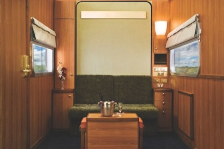 The Ghan train day cabin