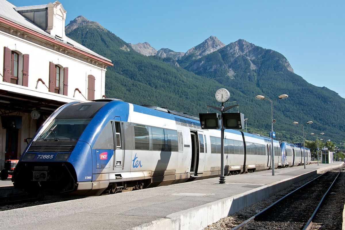 SNCF train travel in France