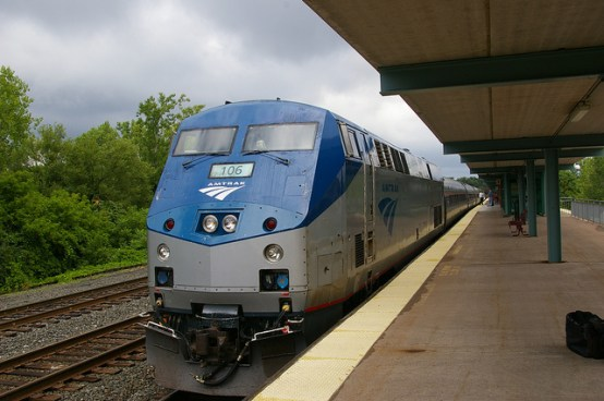 Amtrak Maple Leaf train from New York to Toronto