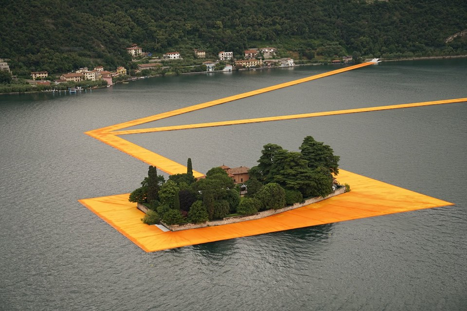 The Floating Piers Christo E Jeanne Claude Trip Of A Lifetime Where The Viewer Is Part Of The Work Himself Rome Central Magazine