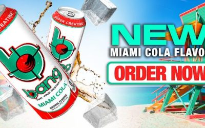 New! Bang Energy Miami Cola!