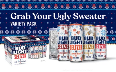 Bud Light Ugly Sweater Seltzer!