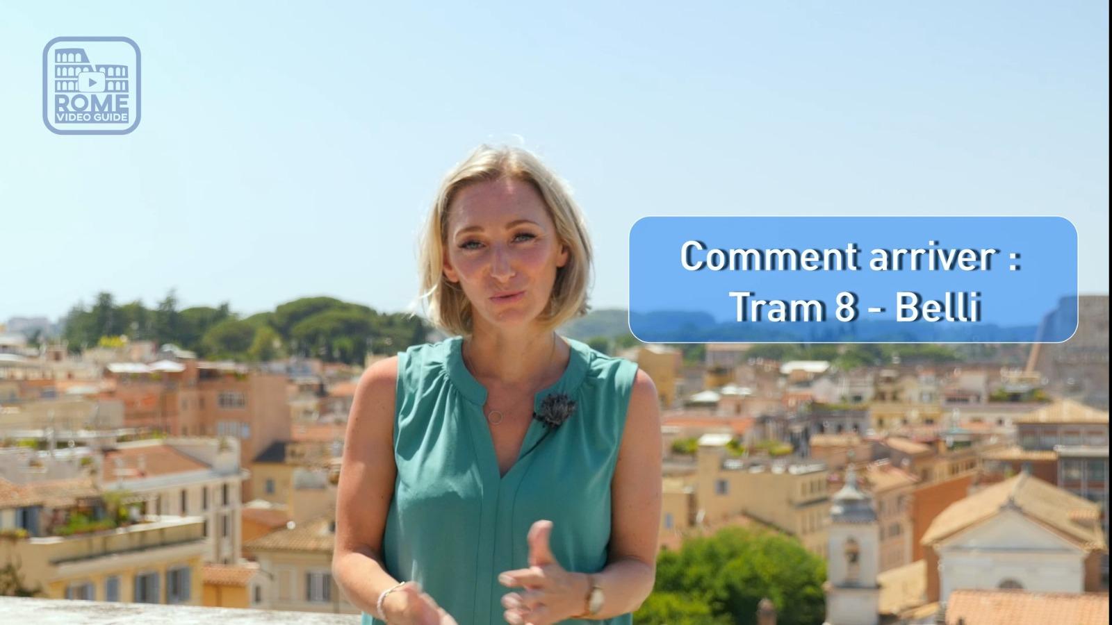 Trastevere - Comment arriver - Peggy - RomeVideoGuide.com