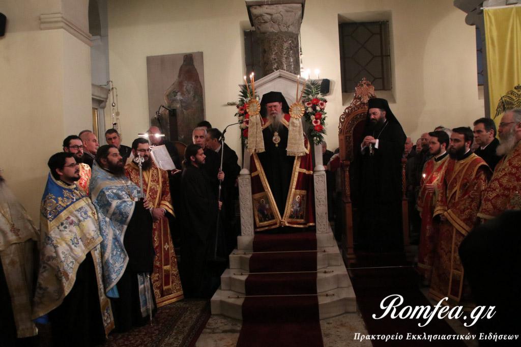 Πολυαρχιερατικός Εσπερινός για τη σύναξη των Αγίων Θεοδώρων στις Σέρρες (ΦΩΤΟ)