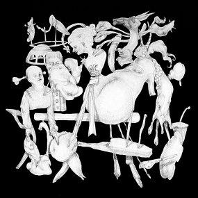 El monaguillo hacendoso - acrílico sobre lienzo - 100 x 100 cm