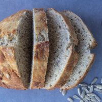 One Hour Sunflower Seed Bread