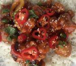 Easy sweet chilli chicken