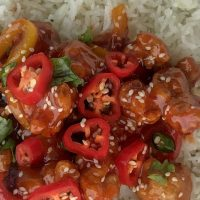 Easy Sweet Chilli Chicken