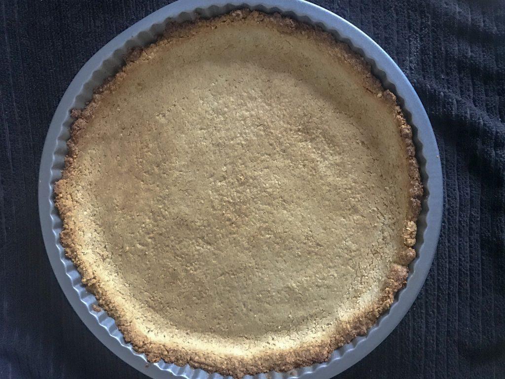 Oat flour crust