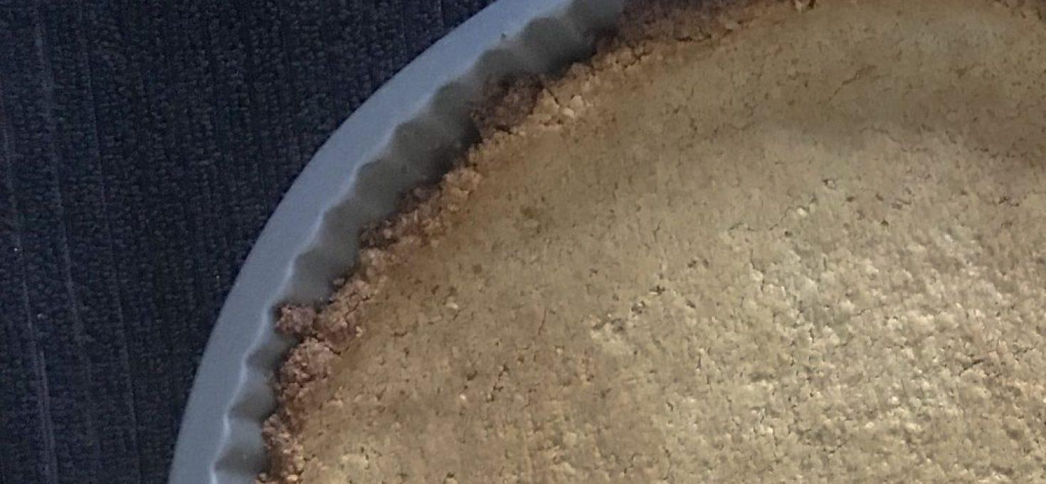 Easy Oat Flour Tart Crust
