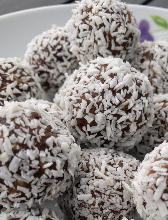 Four Ingredients Protein Balls