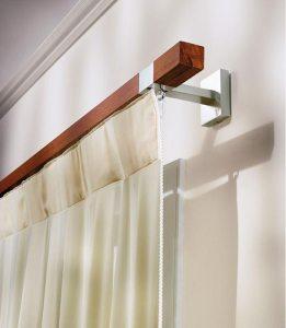 binario legno e metallo Sistemi per tende