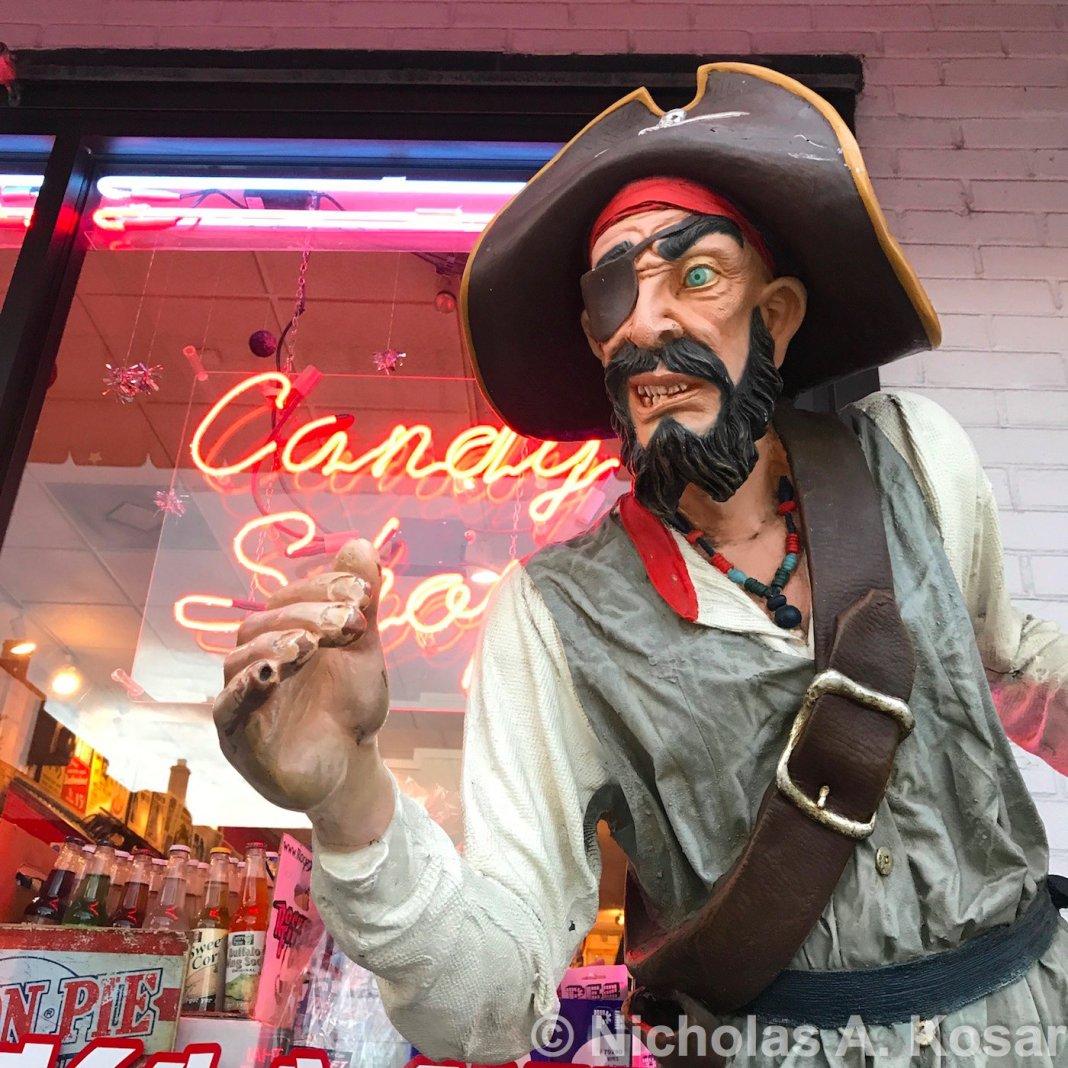 carytown pirate, rocket fizz soda pop candy