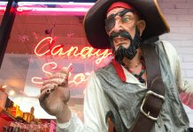 carytown pirate, rocket fizz soda pop candy