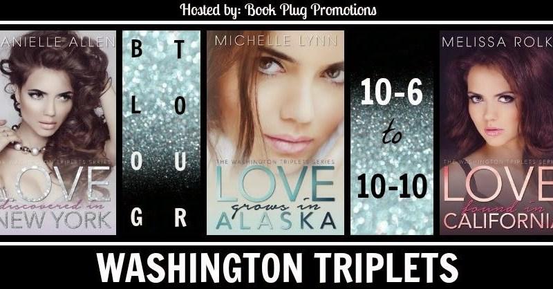 Blog Tour + Review + Giveaway // The Washington Triplets Series
