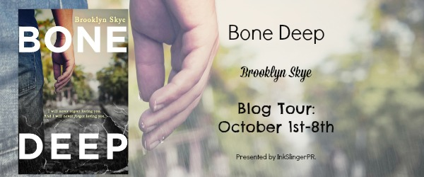 Blog Tour + Review + Giveaway // Bone Deep by Brooklyn Skye