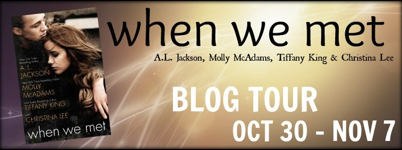 Blog Tour + Review + Giveaway // When We Met