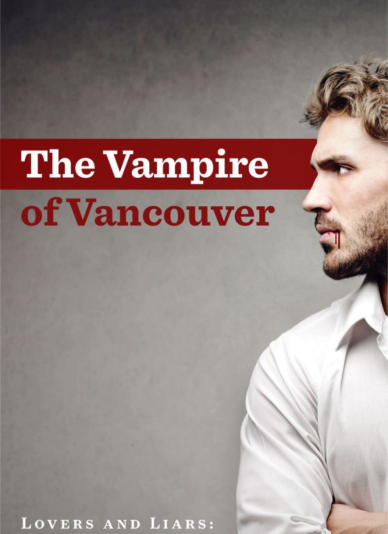 Cover Reveal // The Vampire of Vancouver by Liz Meldon
