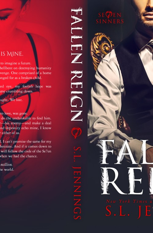 Cover Reveal | Fallen Reign by S.L. Jennings