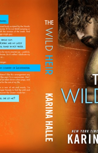 Cover Reveal | The Wild Heir by Karina Halle