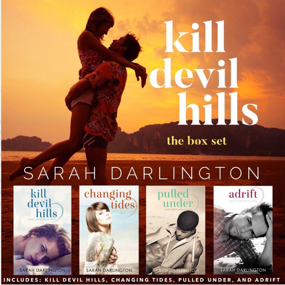 Kill Devil Hills: A Complete Beach Romance Series (4-Book Box Set) by Sarah Darlington