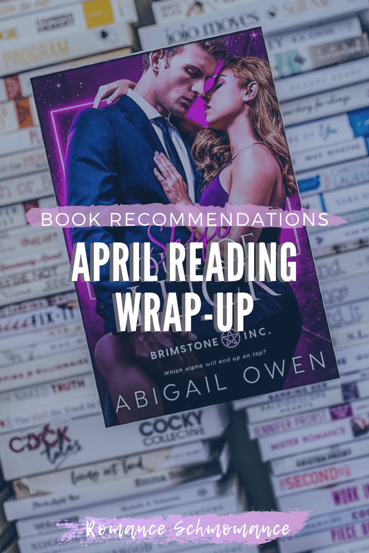 BOOK RECOMMENDATIONS   APRIL READING WRAP-UP