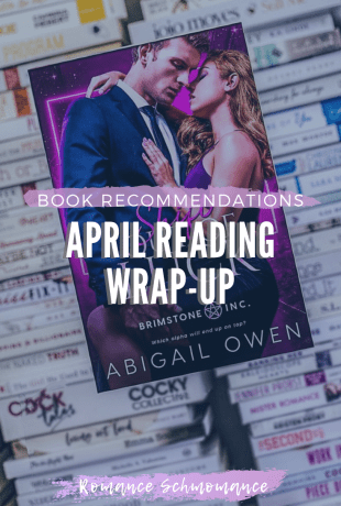 Book Recommendations | April Wrap-up & Checking In