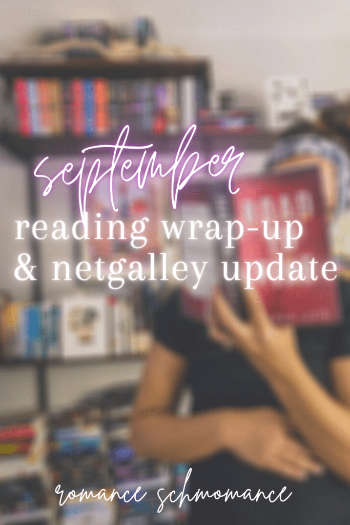 September | reading wrap-up and netgalley update.
