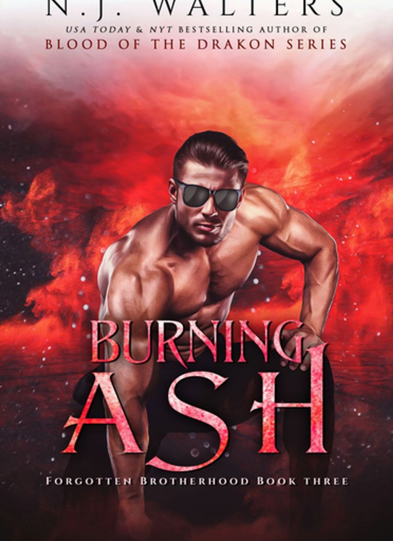 Review | Burning Ash by N.J. Walters — a hunter and a vampire, anyone?!