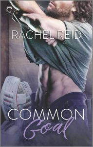 Review | Common Goal — M/M hockey romance; a slow burn & friends-to-lovers