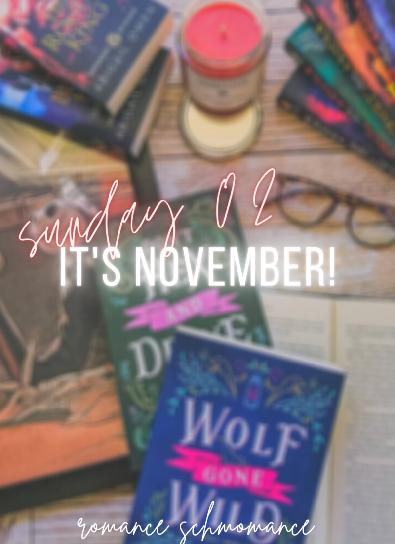 Sunday, Sunday, Sunday 02 | It's November!