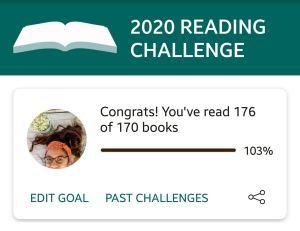 2020 Goodreads Challenge