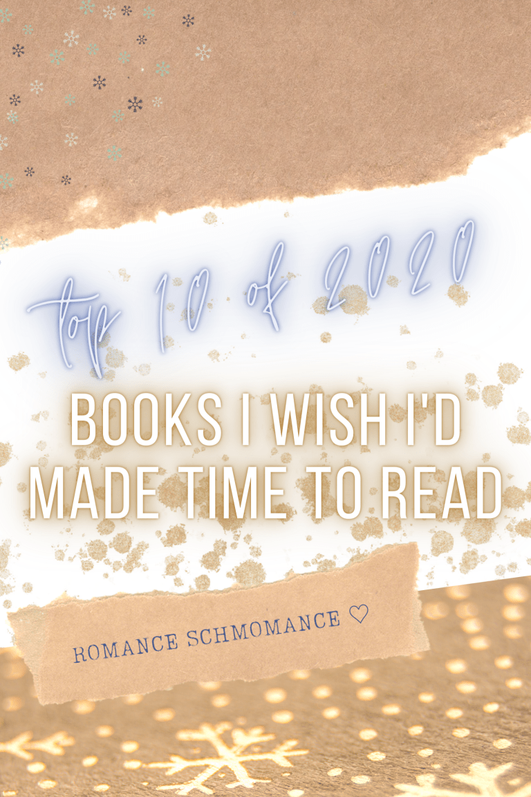 TOP 10 OF 2020 | BOOKS I WISH I'D MADE TIME TO READ