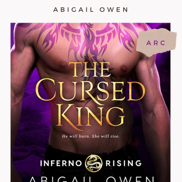 ARC Review | The Cursed King — Everything Must Come to an End.