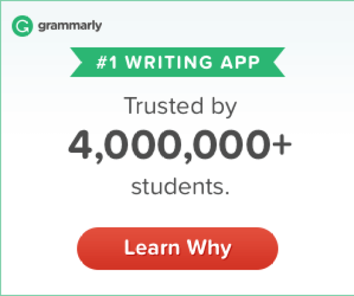 grammarly writing app