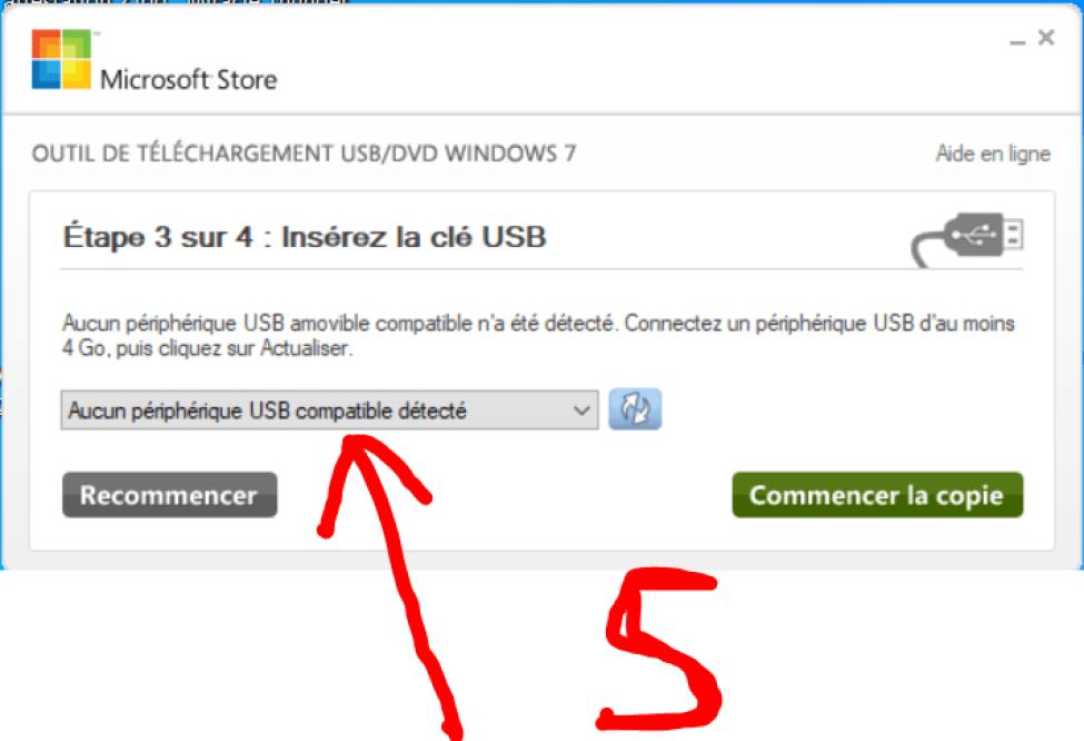 COMMENT INSTALLER WINDOWS SUR CLE USB OU DVD 5