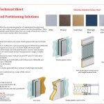 Silverline Framed Partitions Technical Sheet