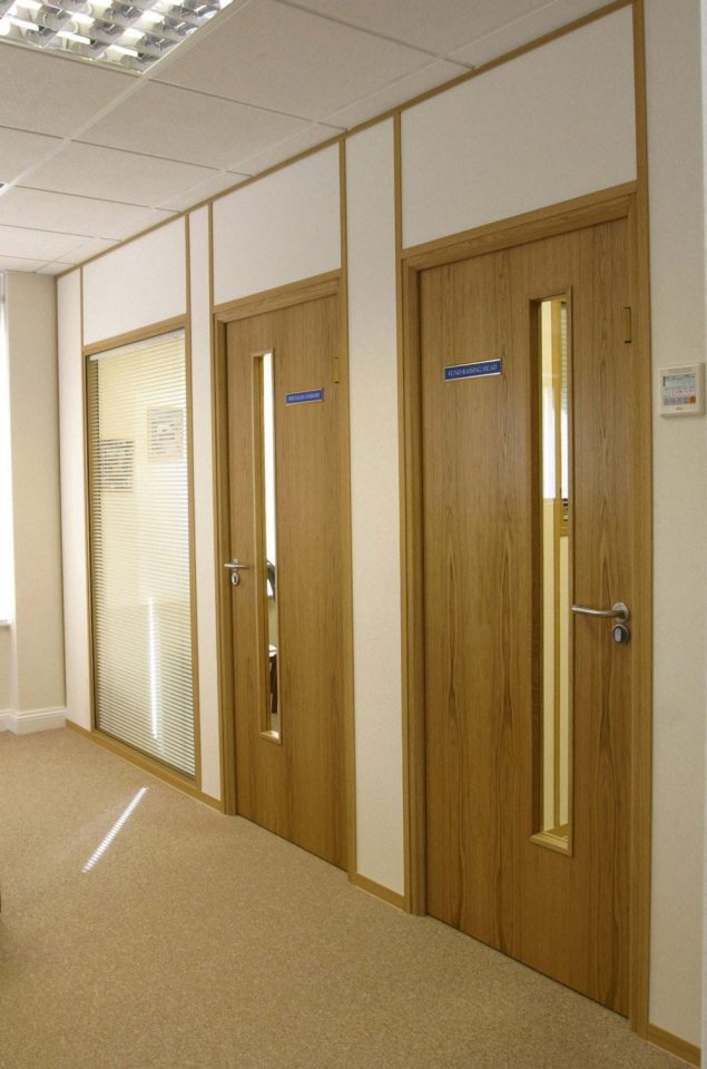 Timberline Office Partitioning