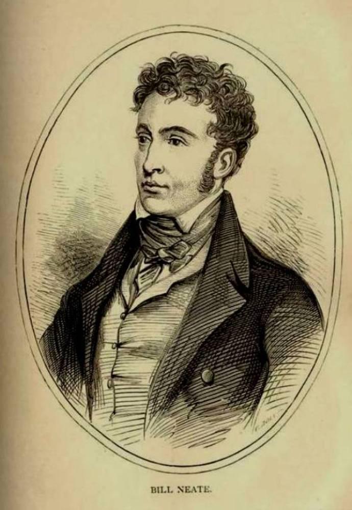 Fig. 3. Bill Neate (1791–1858). In Pugilistica, vol. ii (1880).