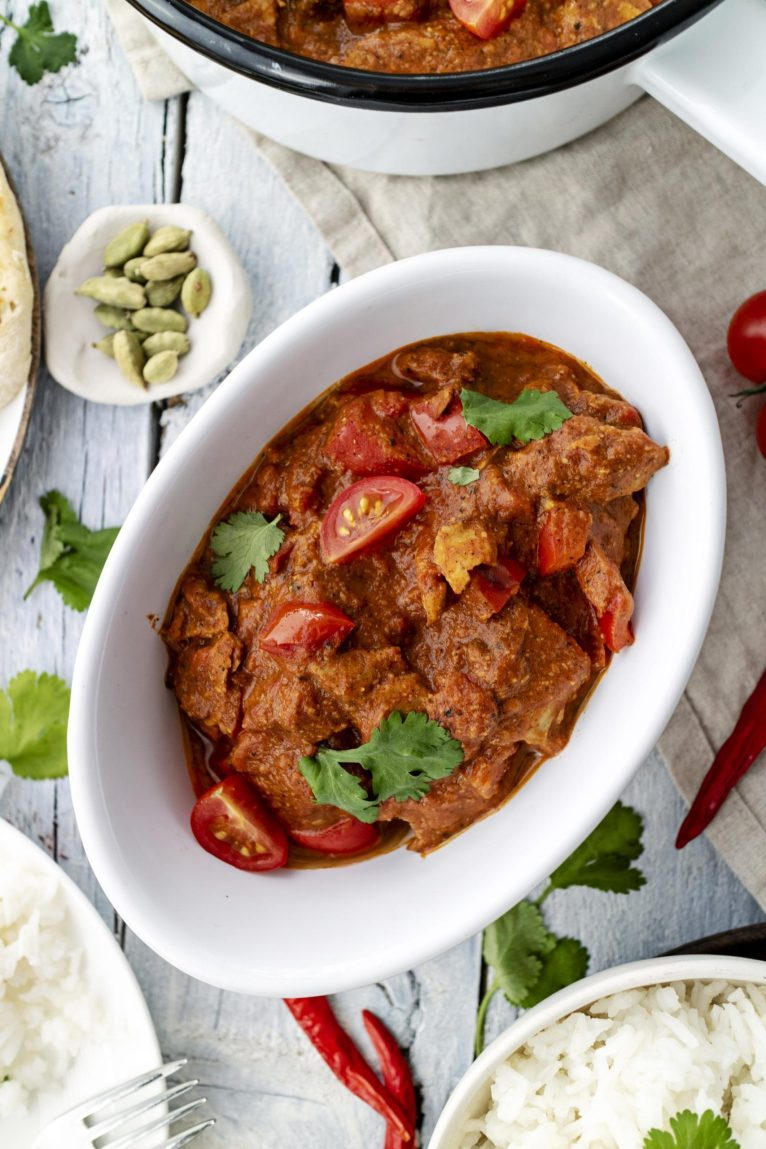 Vegan Tikka Masala Curry Recipe