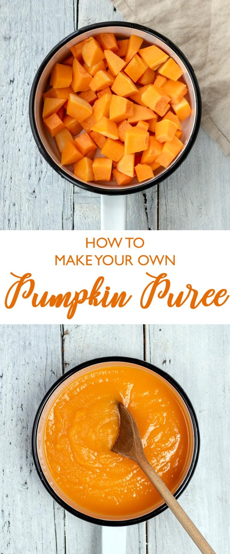 Homemade Pumpkin Puree Recipe (Vegan)