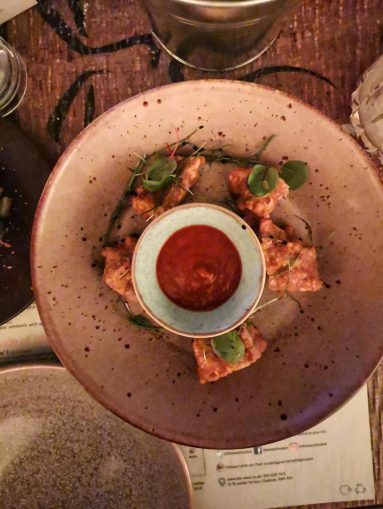 THE MEET CLAPHAM VEGAN MENU REVIEW