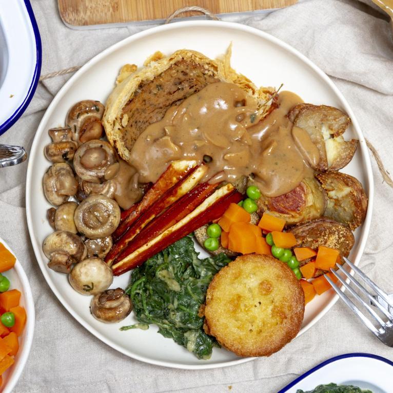 Vegan Christmas Roast with Seitan Recipe