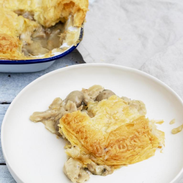Festive Vegan Mushroom Pie Recipe