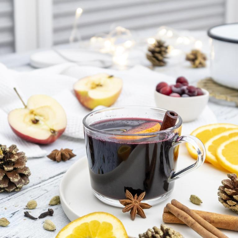 Vegan Spiced Mulled Wine Recipe