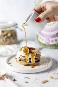 Rice Protein Pancakes Vegan Gluten Free