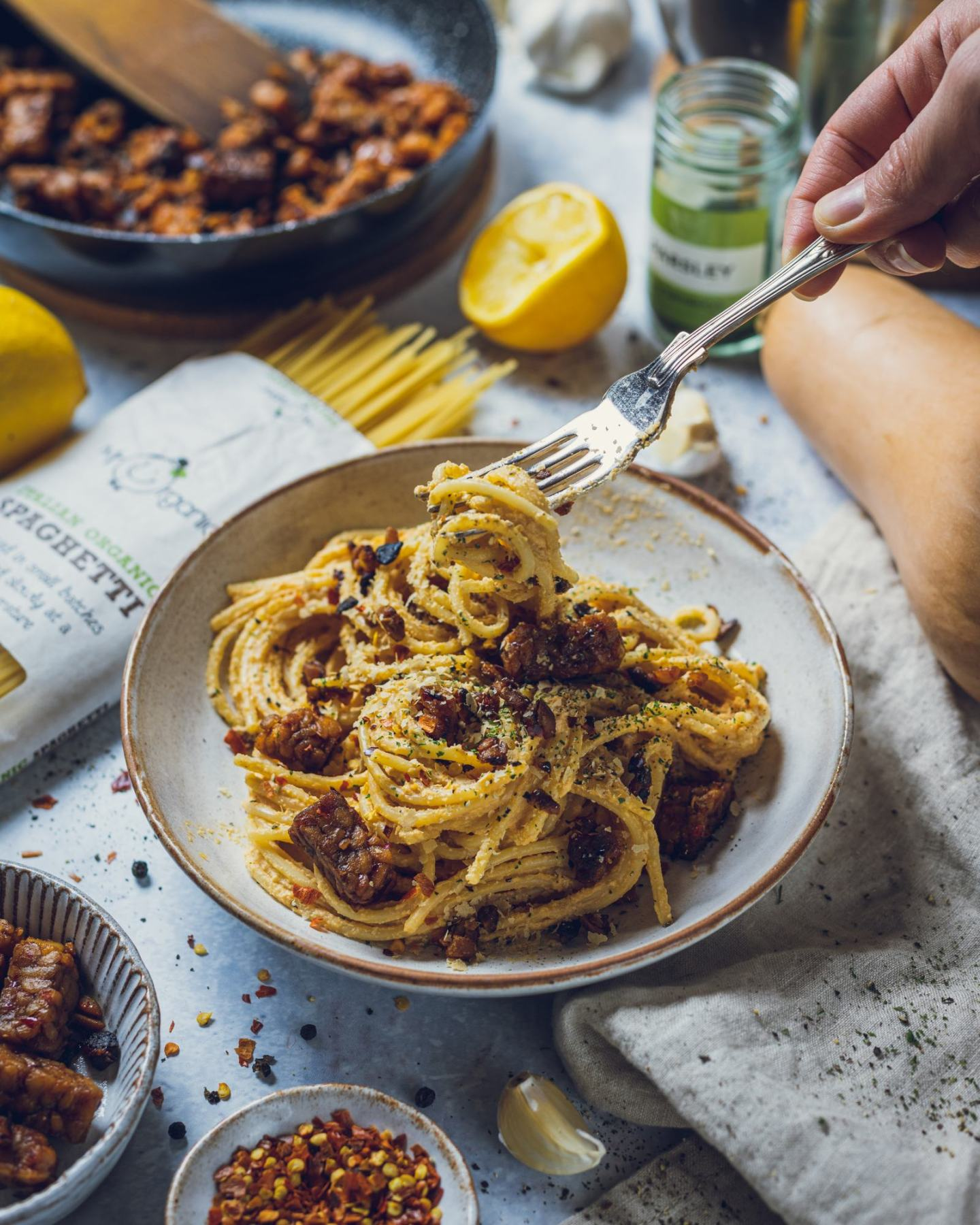 Vegan Butternut Squash Pasta