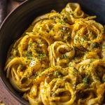 Vegan Pumpkin Linguine Recipe