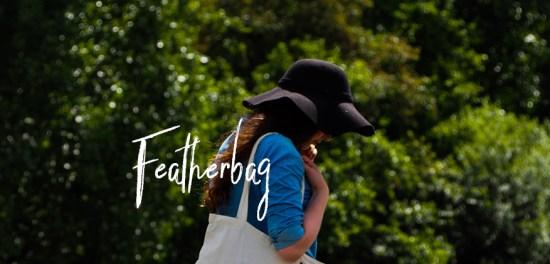 Photoshoot Featherbag