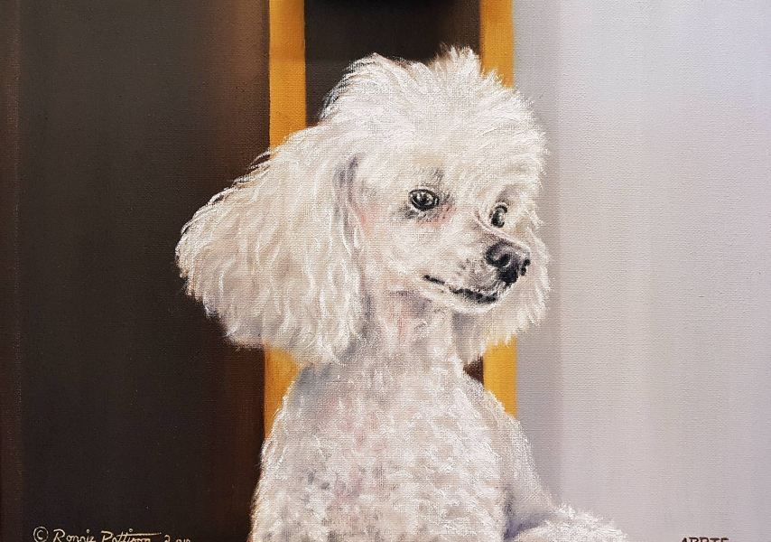 Abbie - Pet Portrait Painting